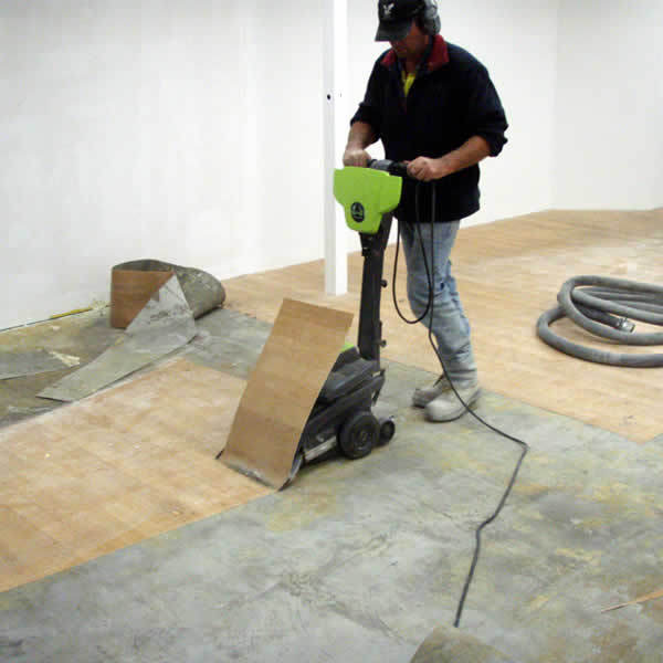 Removing vinyl flooring for Removing concrete floor